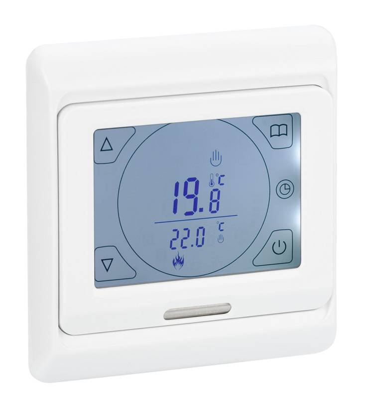 digital raumthermostat drt ts mit touchscreen 39 95 imowell. Black Bedroom Furniture Sets. Home Design Ideas