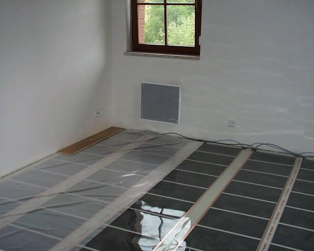 Fußboden Erhöhen ~ Elektrische fußbodenheizung ecofilm u ac
