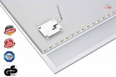 rahmenlose infrarot spiegelheizung nomic star 500 watt. Black Bedroom Furniture Sets. Home Design Ideas