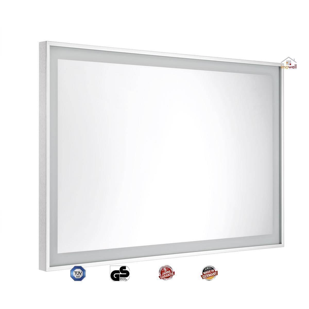 infrarot spiegelheizung nomic halo 400 watt mit led. Black Bedroom Furniture Sets. Home Design Ideas