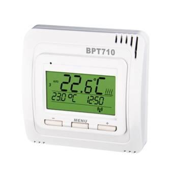 Elektrobock Digitaler Funk-Raumthermostat mit Display BT710