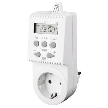 Elektrobock Steckdosenthermostat TS20 mit Zeitprogramm
