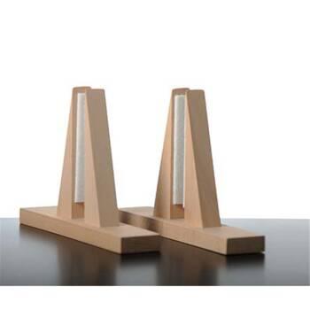 Elbo Therm Holz-Standfüße - Set 2 Stk. gerade
